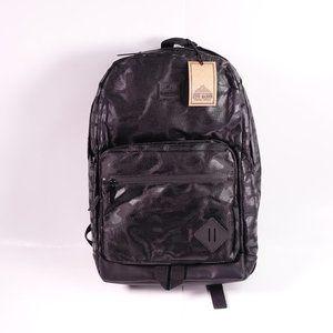 NEW Steve Madden Dome Camo Backpack Black